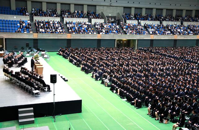 富山 大学 入学 式