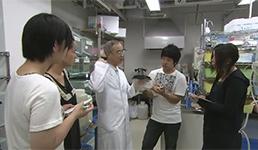 生物学科 内山 実 教授の動画