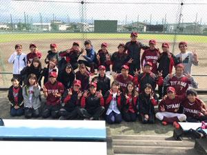 杉谷キャンパス 準硬式野球部